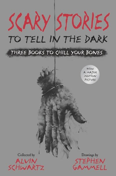 HarperCollins Scary Stories to Tell in the Dark: Three Books to Chill Your Bones