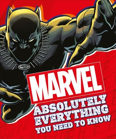 DK Children Marvel Absolutely Everything You Need To Know