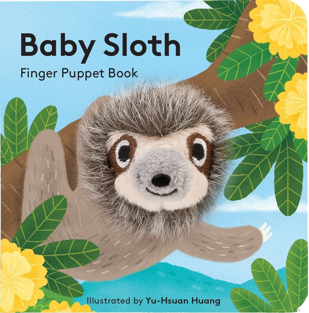 Chronicle Books Baby Sloth (Finger Puppet Book)
