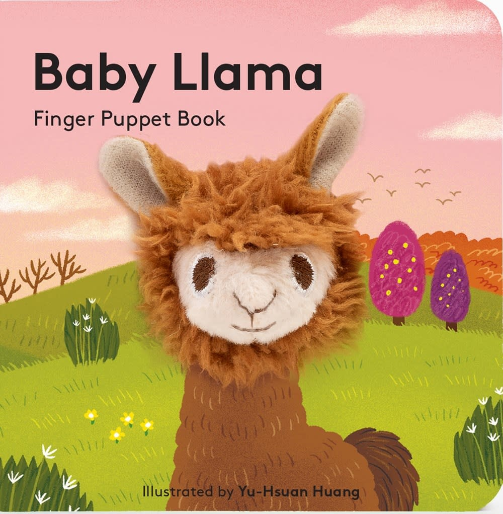Chronicle Books Baby Llama (Finger Puppet Book)
