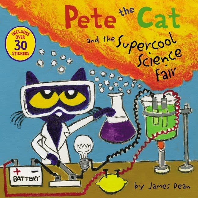 HarperCollins Pete the Cat: The Supercool Science Fair