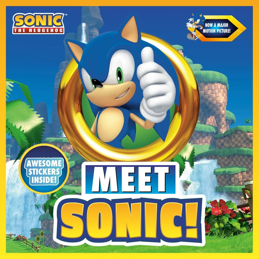 Penguin Young Readers Licenses Sonic the Hedgehog: Meet Sonic!