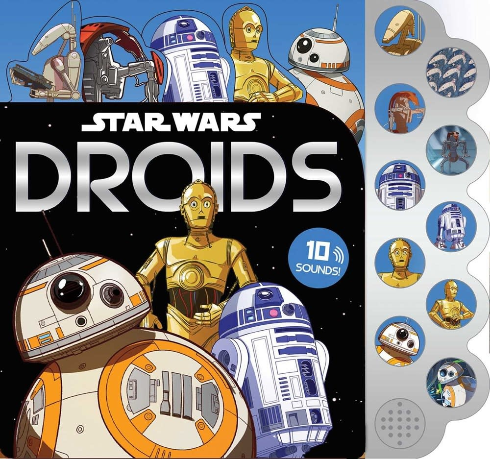 Printers Row Star Wars: 10-Button Sounds: Droids