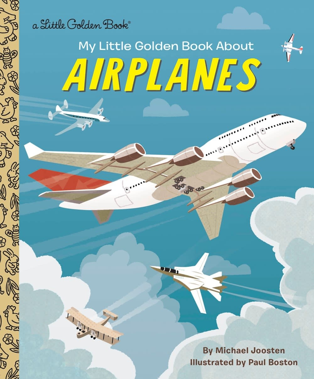 Golden Books My Little Golden Book About Airplanes