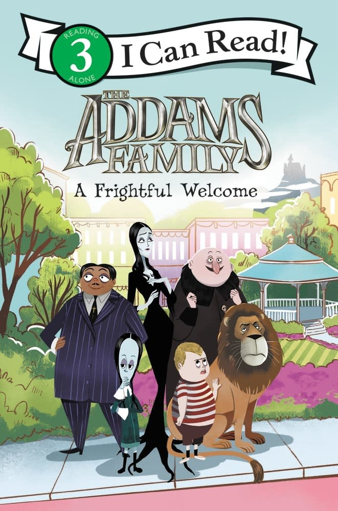 HarperCollins Addams Family: A Frightful Welcome (I Can Read, Lvl 3)