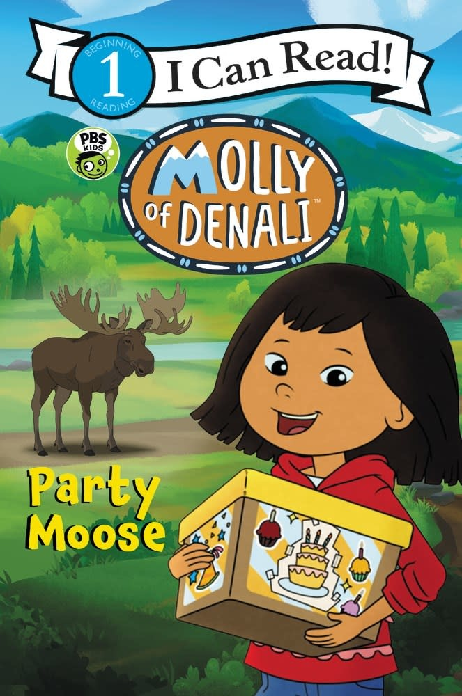 HarperCollins Molly of Denali: Party Moose (I Can Read, Lvl 1)
