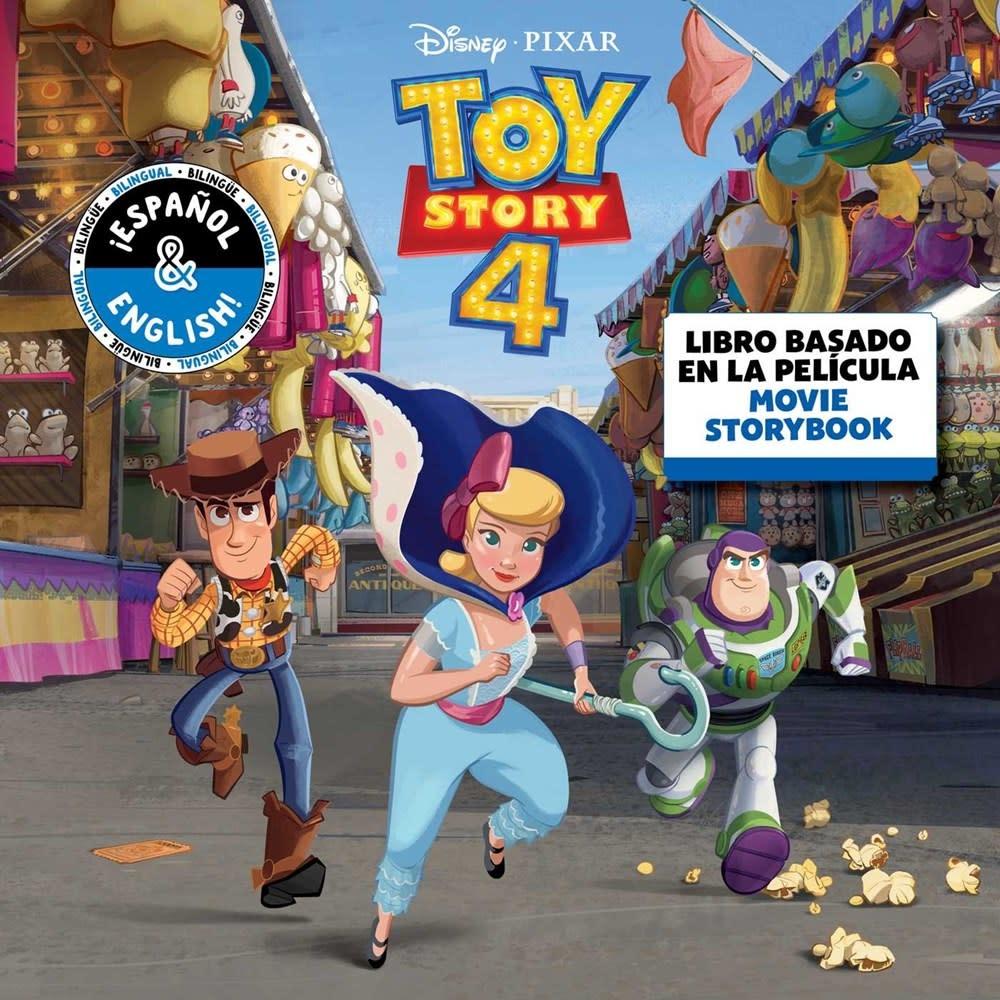 little bee books Disney/Pixar Toy Story 4: Movie Storybook / Libro basado en la película (English-Spanish)