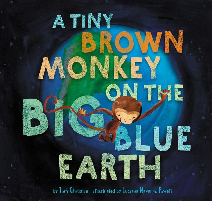 Amicus Ink A Tiny Brown Monkey on the Big Blue Earth