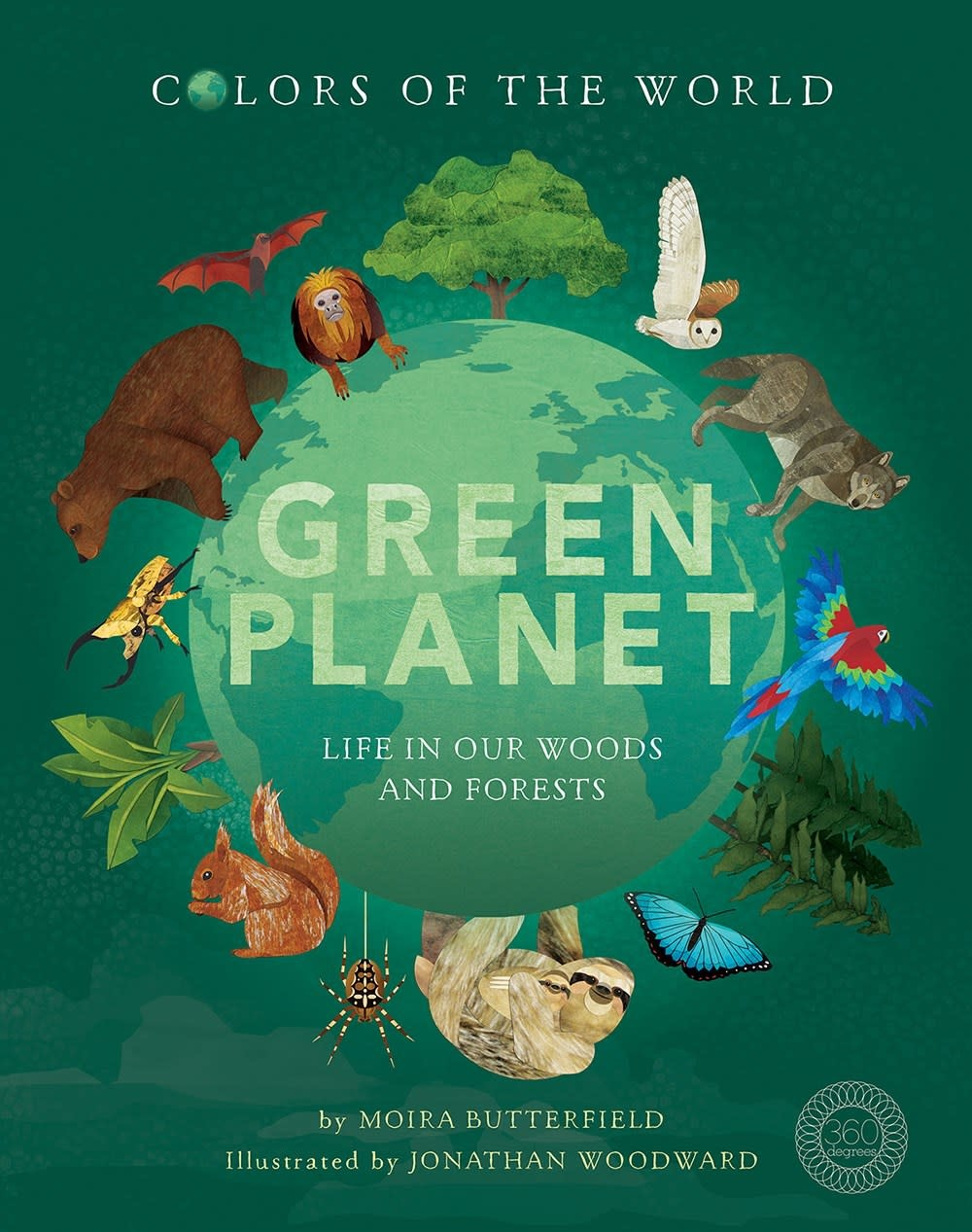 360 Degrees Green Planet: Life in Our Woods and Forests