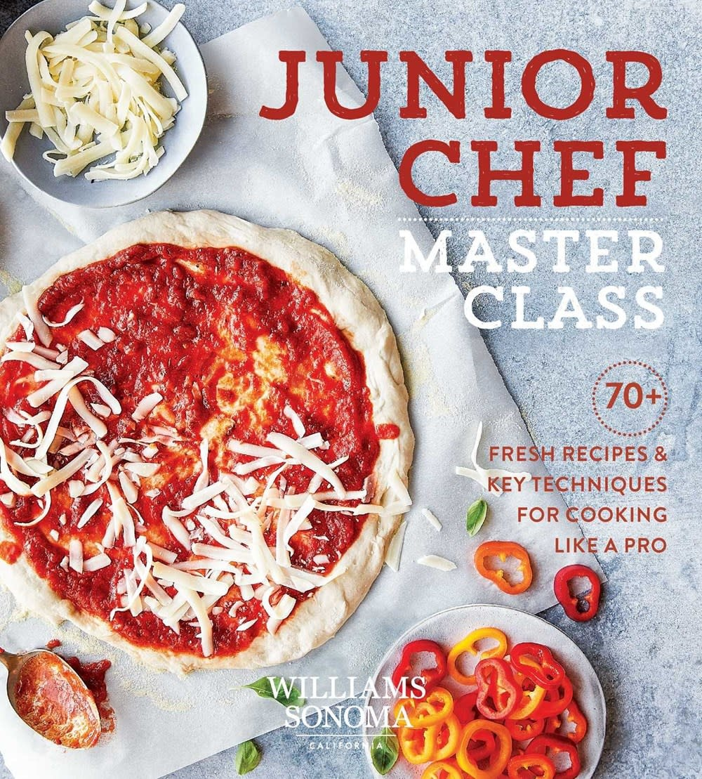 Weldon Owen Junior Chef Master Class: 70+ Fresh Recipes & Key Techniques for Cooking Like a Pro