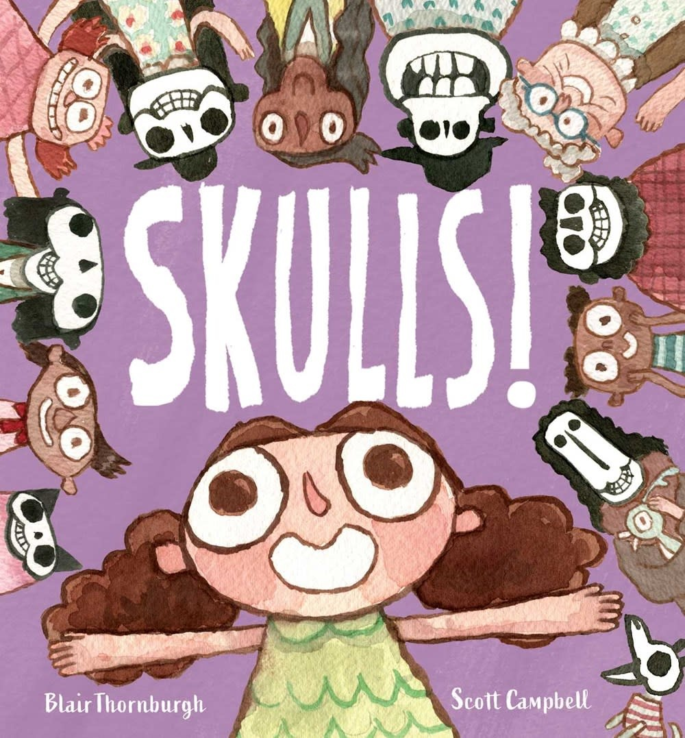 Atheneum Books for Young Readers Skulls!