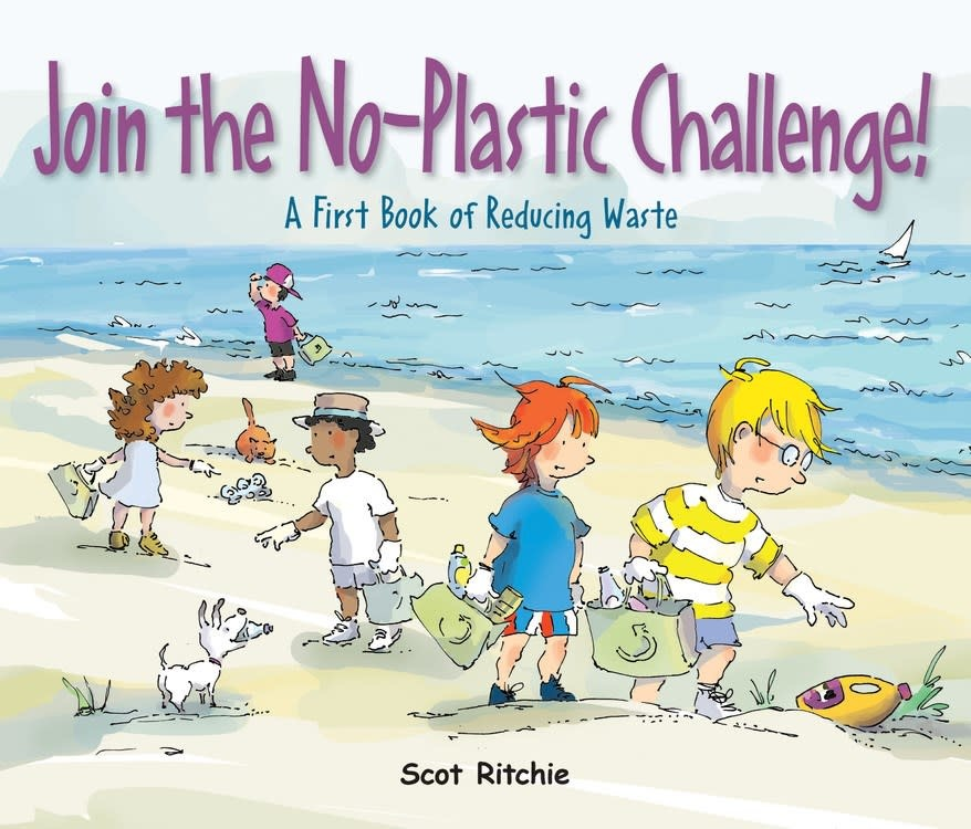 Kids Can Press Join the No-Plastic Challenge!