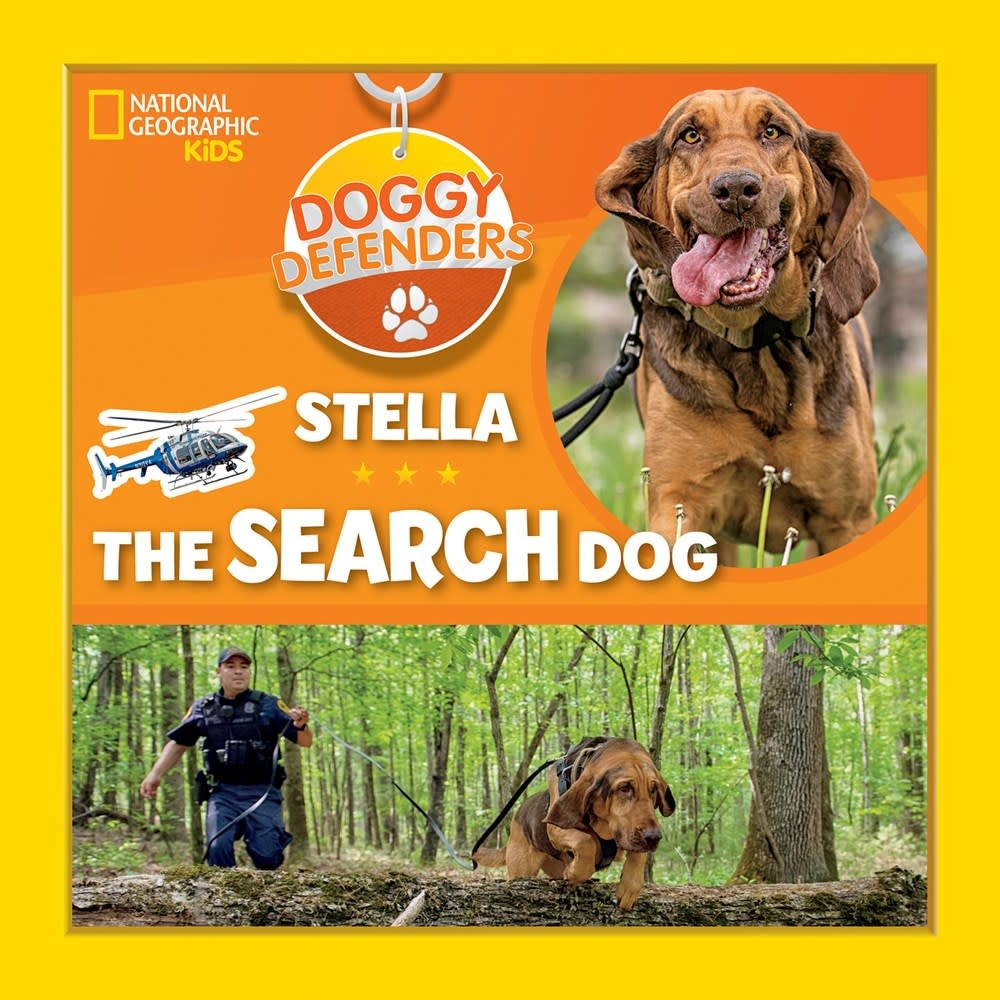 National Geographic Children's Books Doggy Defenders: Stella the Search Dog