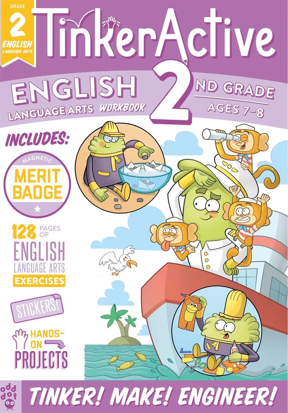 Odd Dot TinkerActive Workbooks: 2nd Grade English