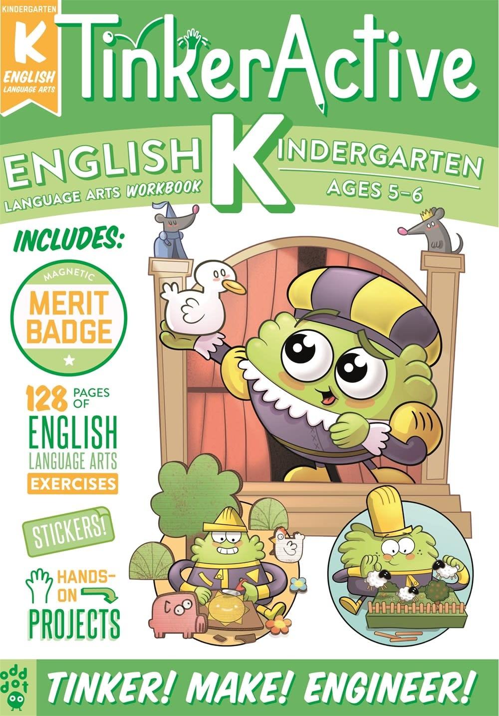Odd Dot TinkerActive Workbooks: Kindergarten English