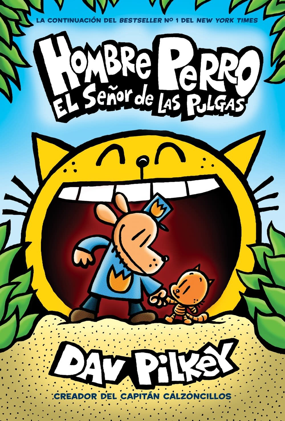 Scholastic en Espanol Dog Man / Hombre Perro: Lord of the Fleas (Spanish)