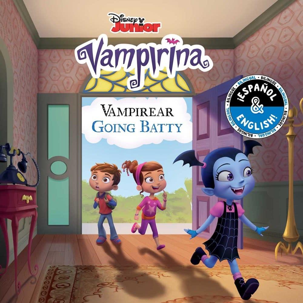 little bee books Disney Vampirina: Going Batty / Vampireando (English-Spanish)