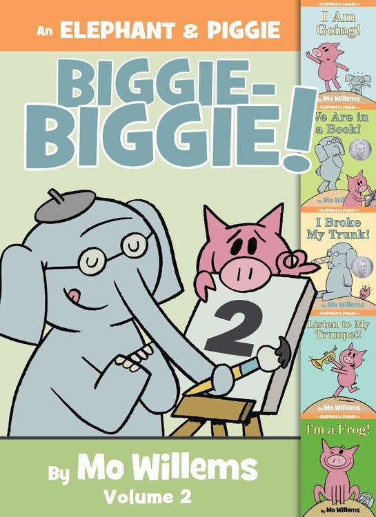 Hyperion Books for Children Elephant & Piggie Biggie Omnibus 02 (5 Books)