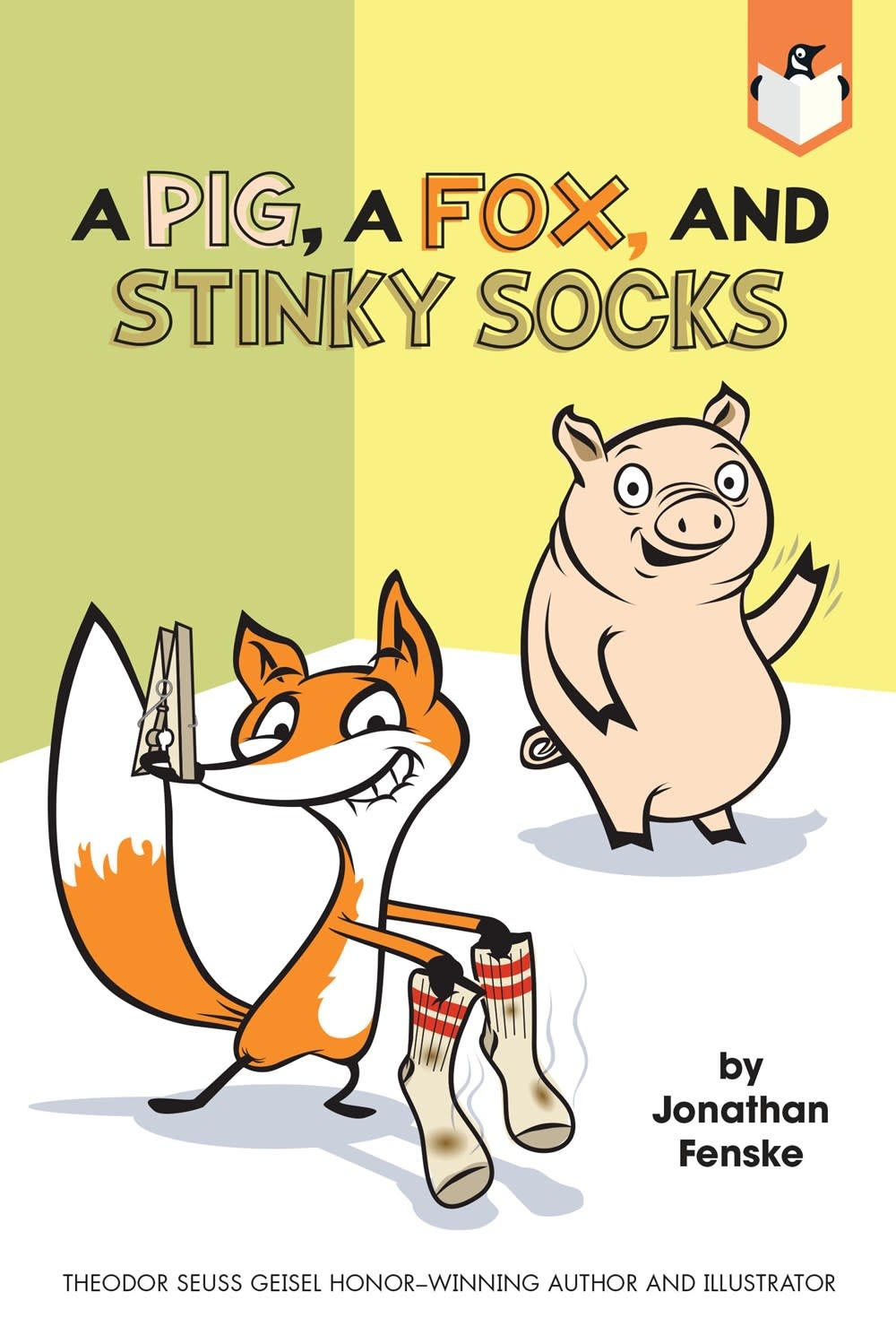 Penguin Workshop A Pig, a Fox, and Stinky Socks