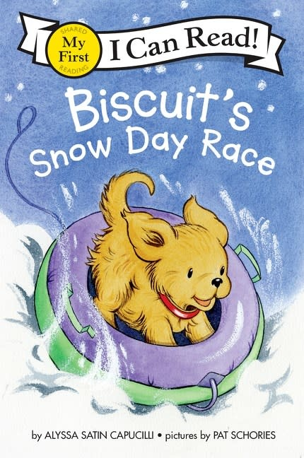 HarperCollins Biscuit: Snow Day Race (I Can Read, Lvl 1)