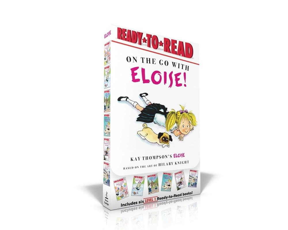 Simon Spotlight On the Go with Eloise! Boxed Set (6 Books, Ready-to-Read, Lvl 1)