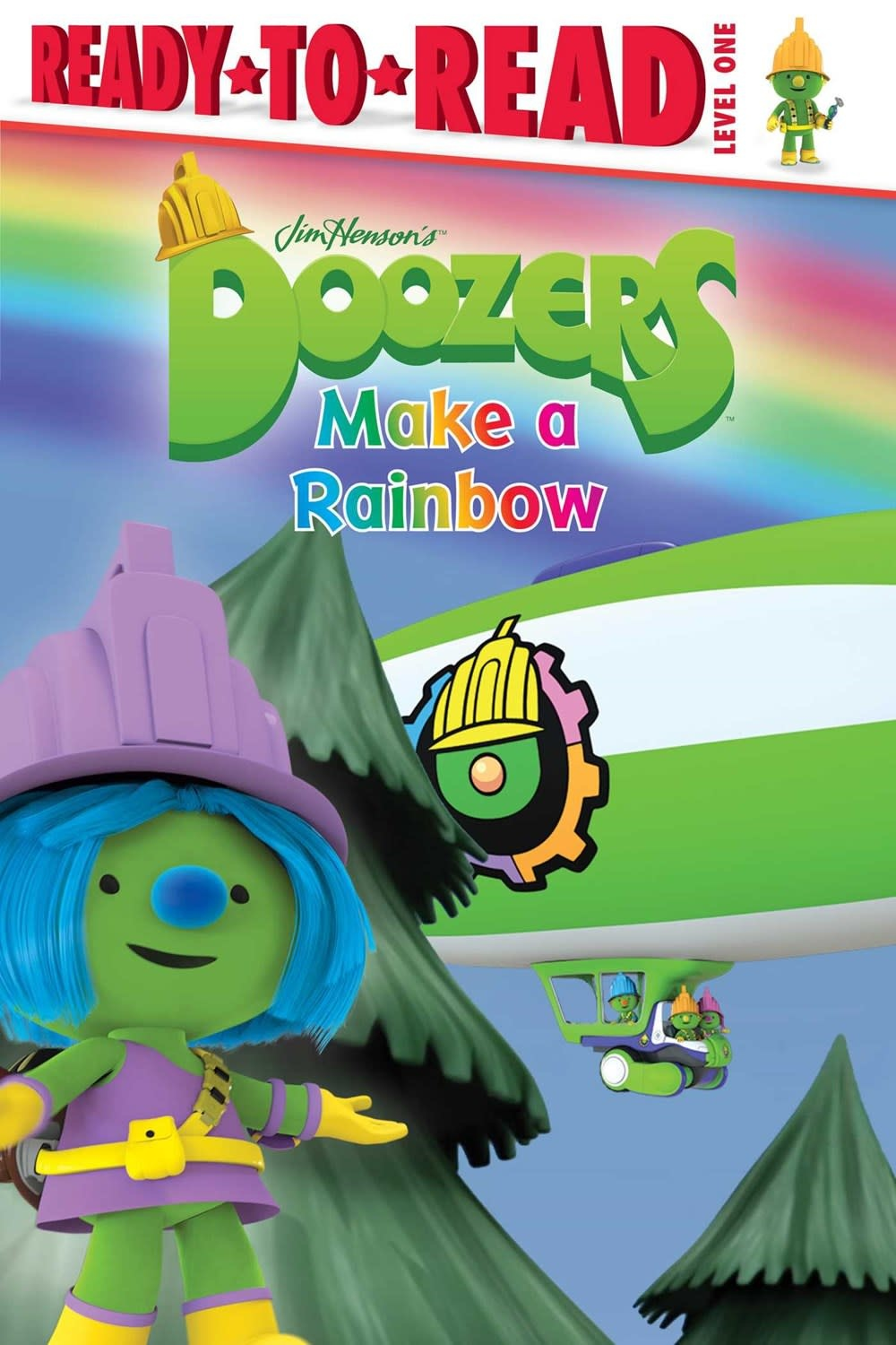 Simon Spotlight Doozers: Make a Rainbow (Ready-to-Read, Lvl 1)