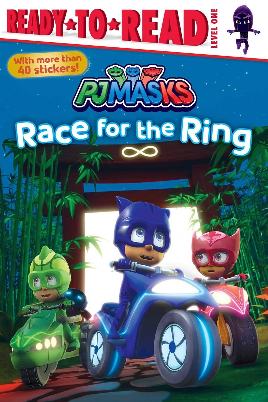 Simon Spotlight PJ Masks: Race for the Ring (Ready-to-Read, Lvl 1)