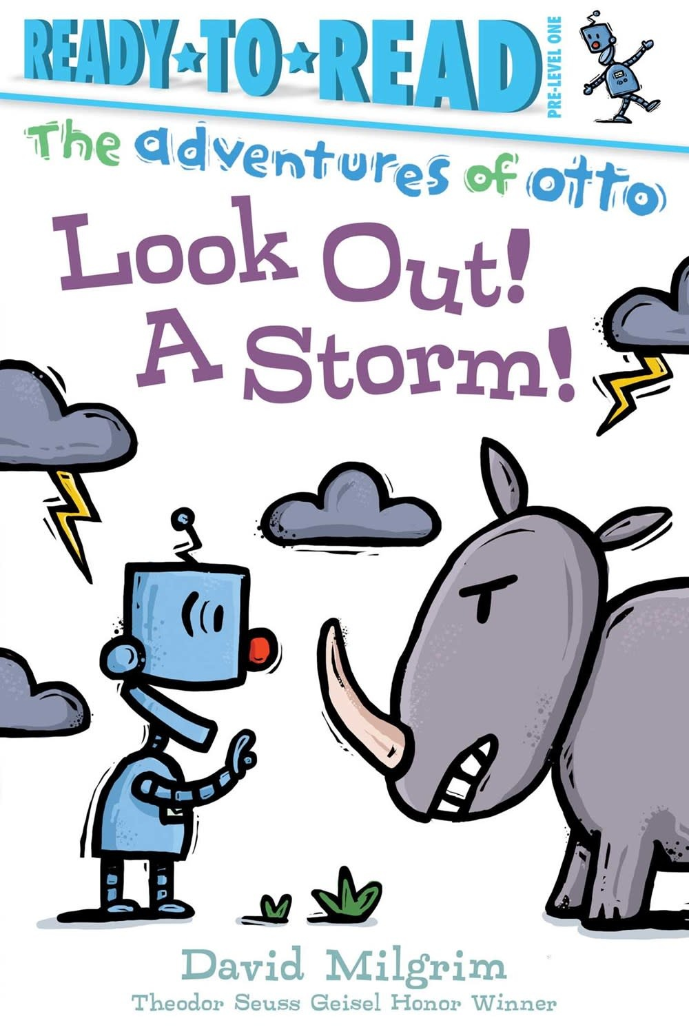Simon Spotlight Adventures of Otto: Look Out! A Storm! (Ready-to-Read, Lvl Pre-1)