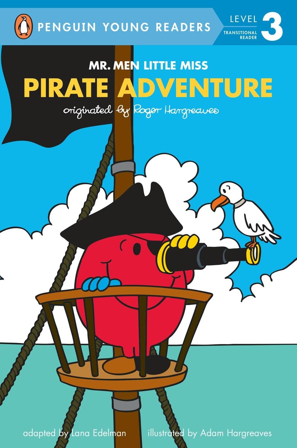 Penguin Young Readers Mr. Men: Pirate Adventure (Penguin, Lvl 3)