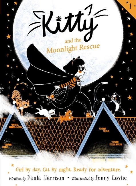Greenwillow Books Kitty 01 The Moonlight Rescue