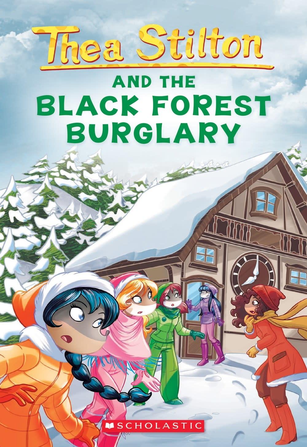 Scholastic Paperbacks Thea Stilton 30 Black Forest Burglary (Geronimo)