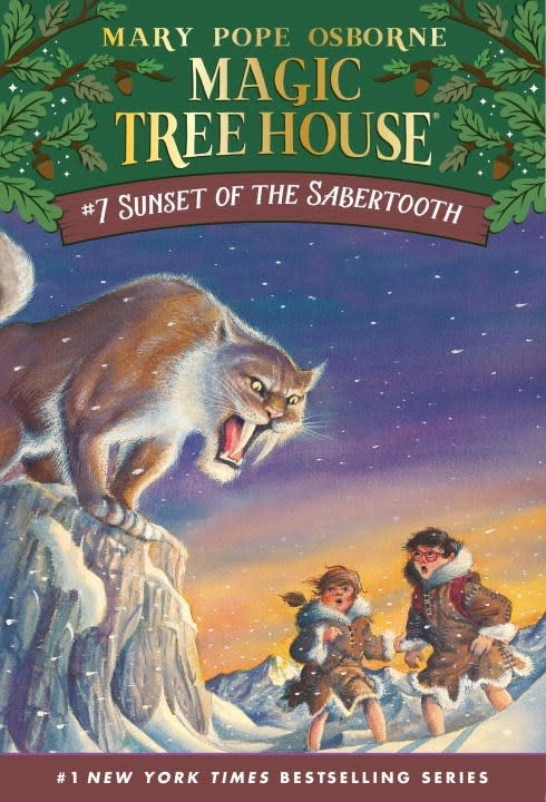 Random House Books for Young Readers Magic Tree House 07 Sunset of the Sabertooth