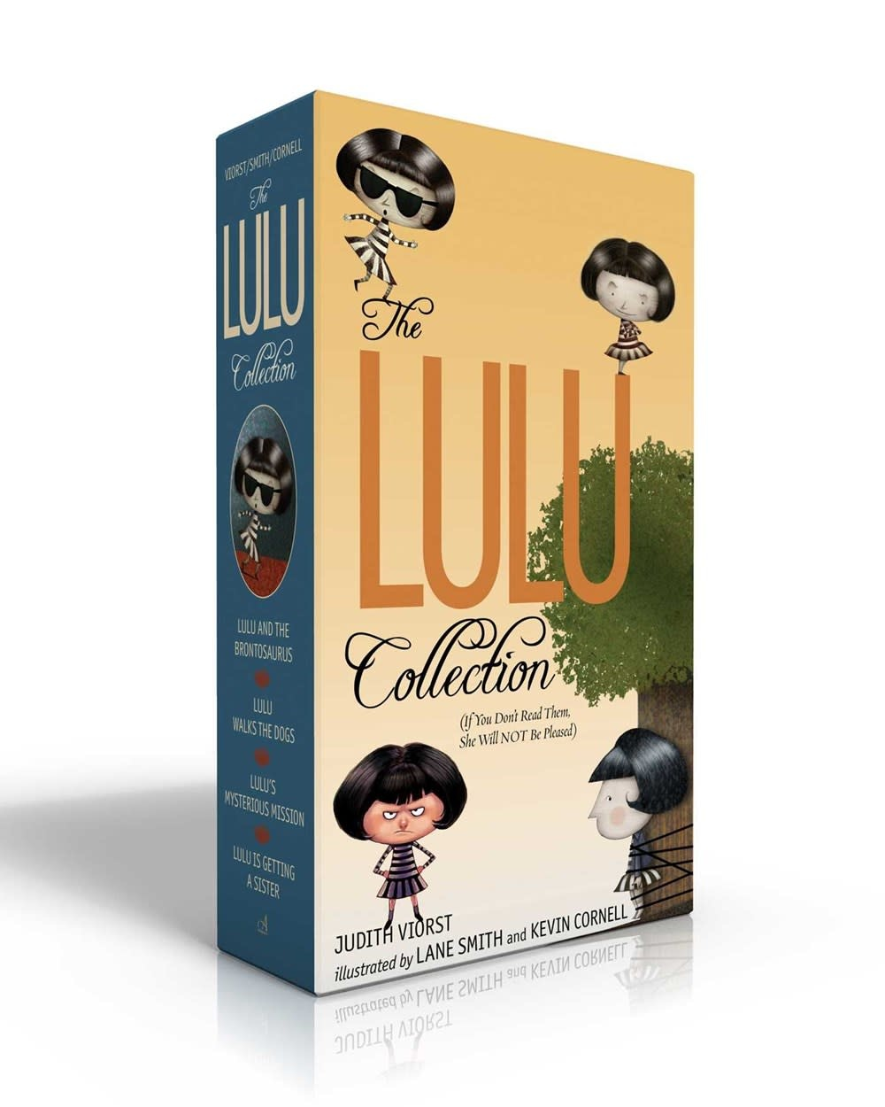 Atheneum/Caitlyn Dlouhy Books Lulu Boxed Set (#1-4) (If You Don't Read Them, She Will NOT Be Pleased)