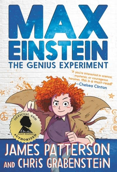 jimmy patterson Max Einstein: The Genius Experiment