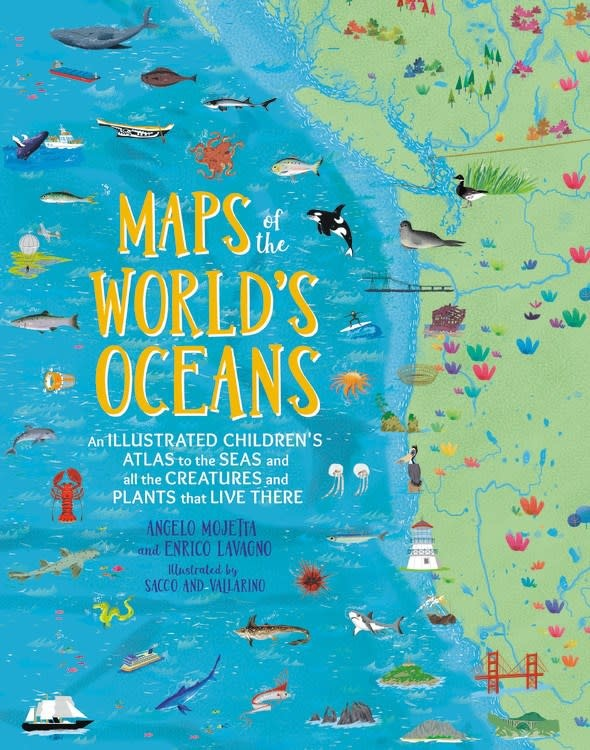 Black Dog & Leventhal Maps of the World's Oceans: An Illustrated Children's Atlas...
