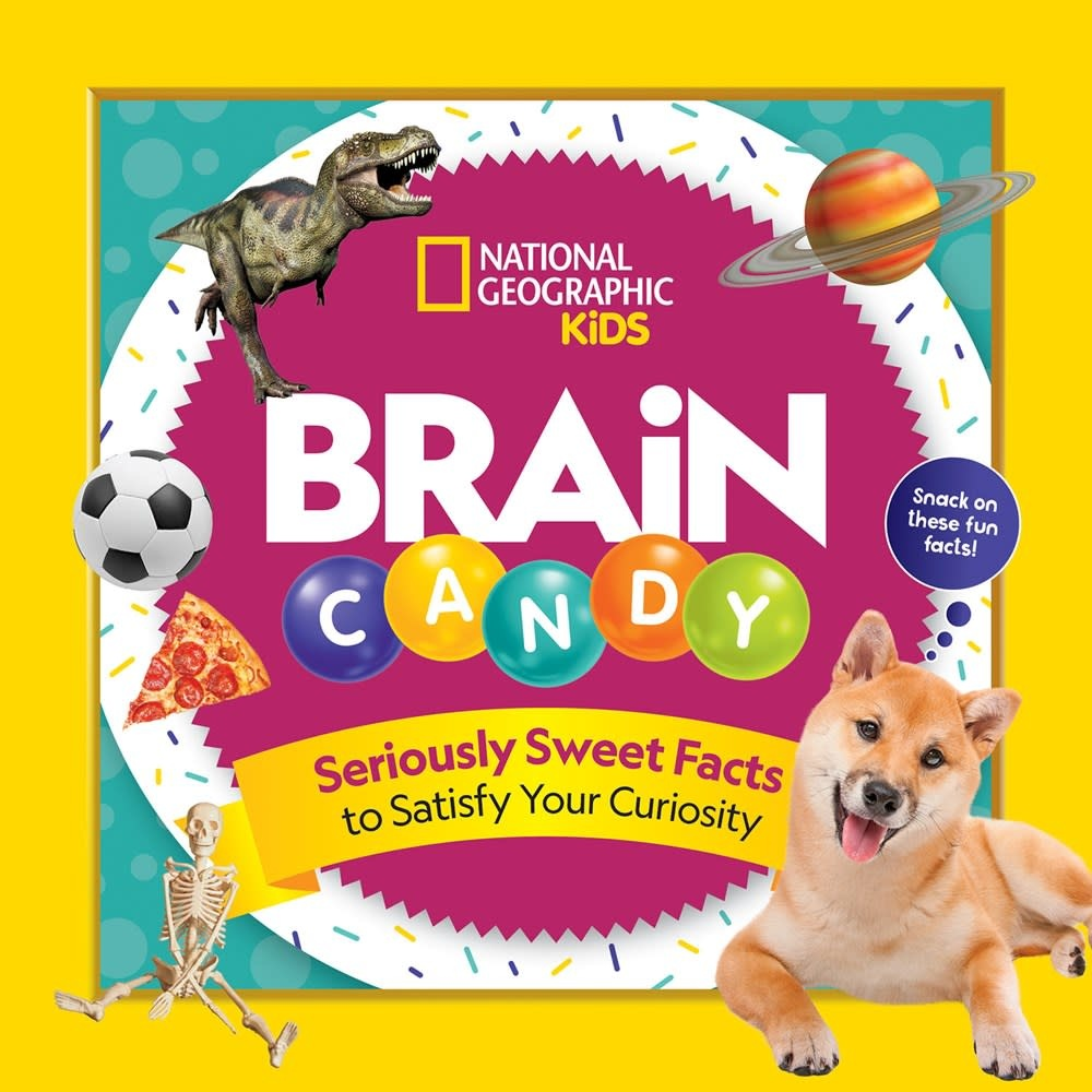 National Geographic Children's Books Nat Geo: Brain Candy: Seriously Sweet Facts to...