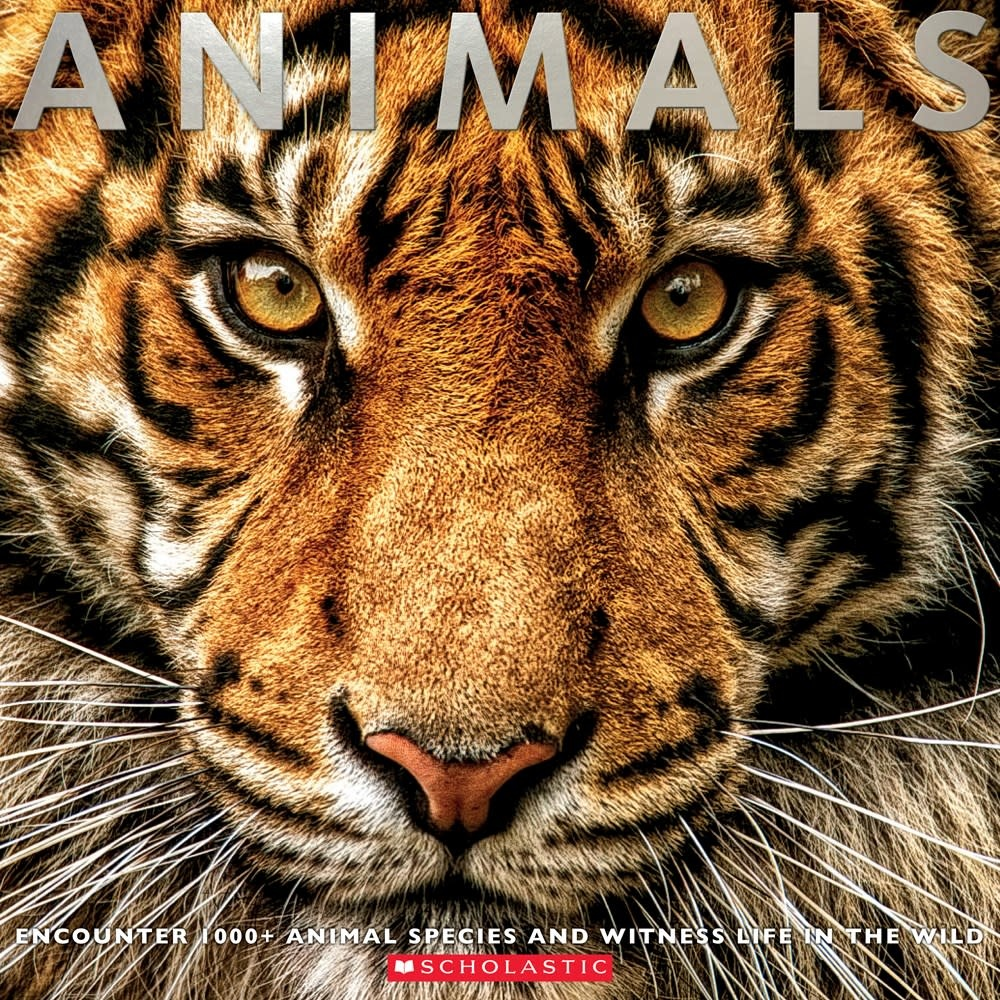 Scholastic Nonfiction Animals: Witness Life in the Wild... 100s of Species
