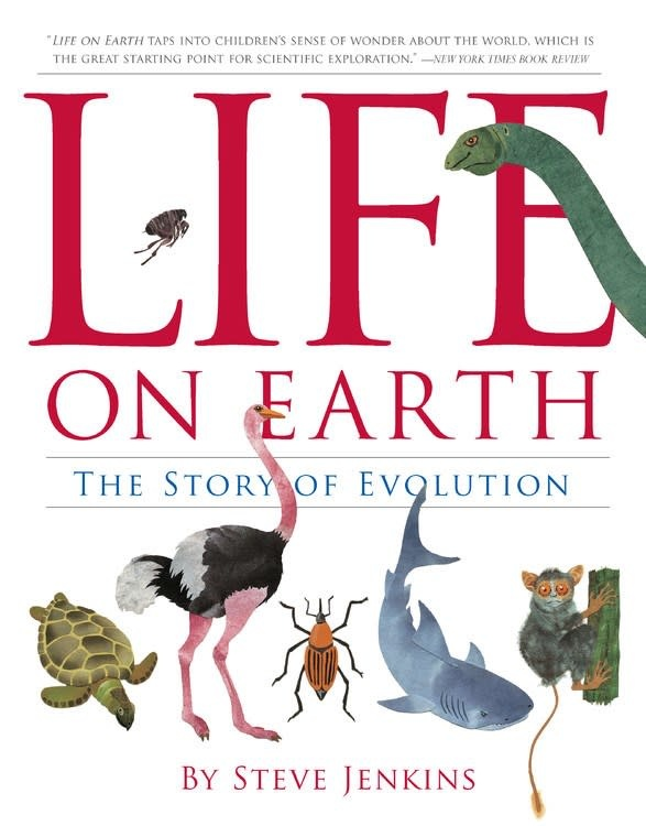 HMH Books for Young Readers Life on Earth: The Story of Evolution