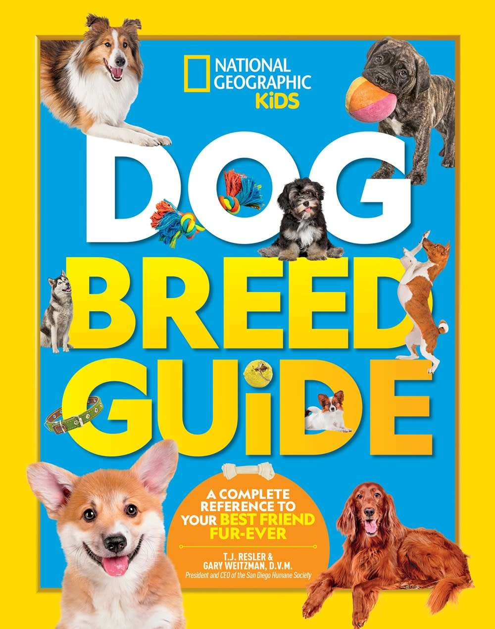 National Geographic Children's Books Nat Geo Kids: Dog Breed Guide