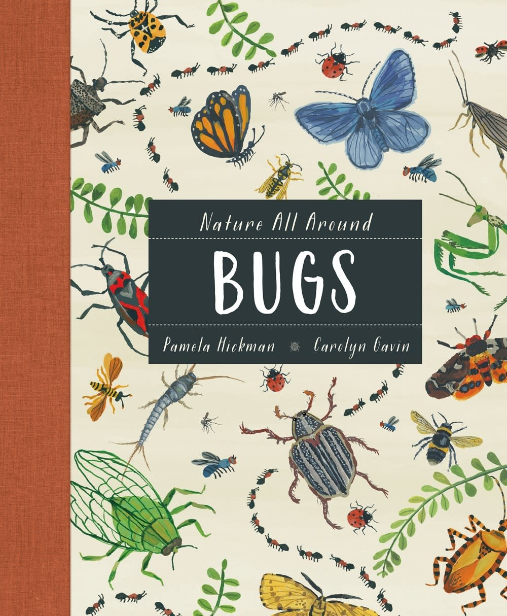 Kids Can Press Nature All Around: Bugs