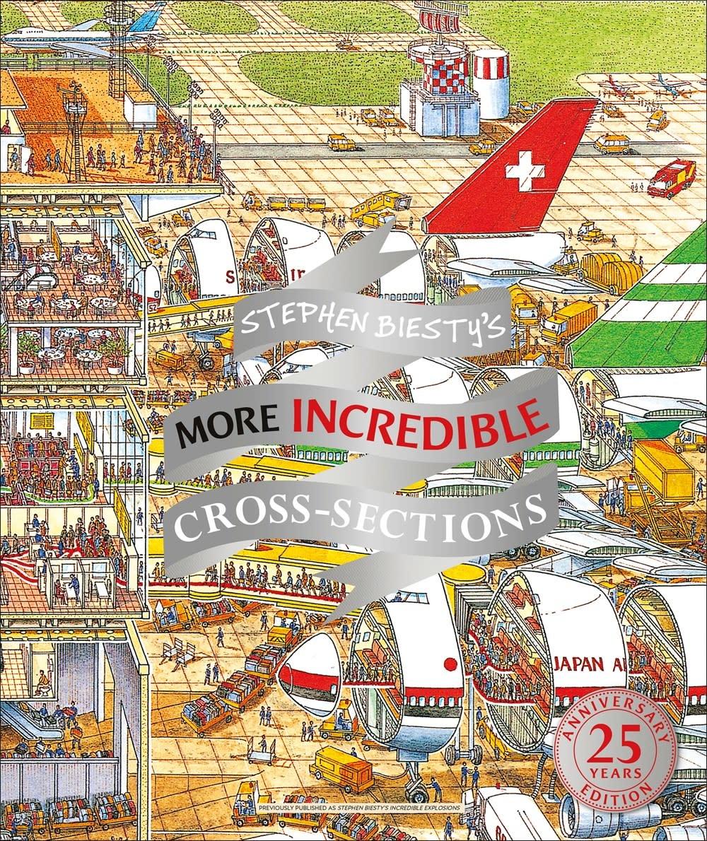 DK Children Stephen Biesty's More Incredible Cross-sections