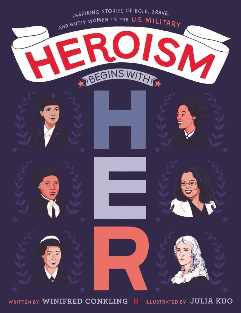 HarperCollins Heroism Begins with Her: Stories of... Women in the US Military
