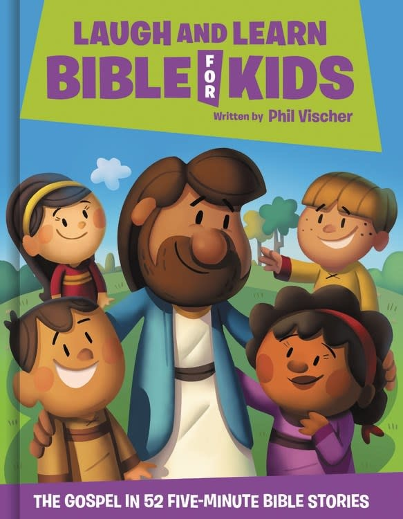 JellyTelly Press Laugh and Learn Bible for Kids