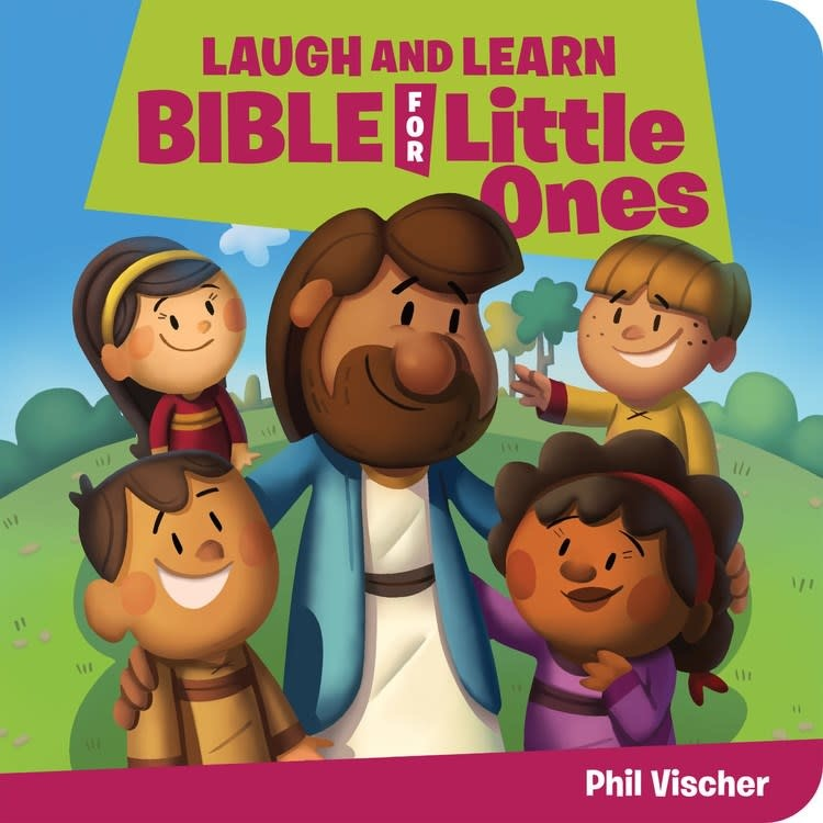 JellyTelly Press Laugh and Learn Bible for Little Ones