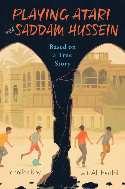HMH Books for Young Readers Playing Atari with Saddam Hussein