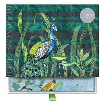 Galison Designers Guild (Blues and Greens) Greeting Assortment Notecard Set
