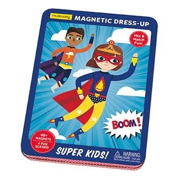 Mudpuppy Super Kids! Magnetic Dress-up