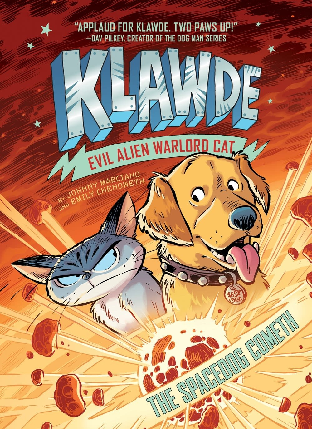 Penguin Workshop Klawde: Evil Alien Warlord Cat 03 The Spacedog Cometh