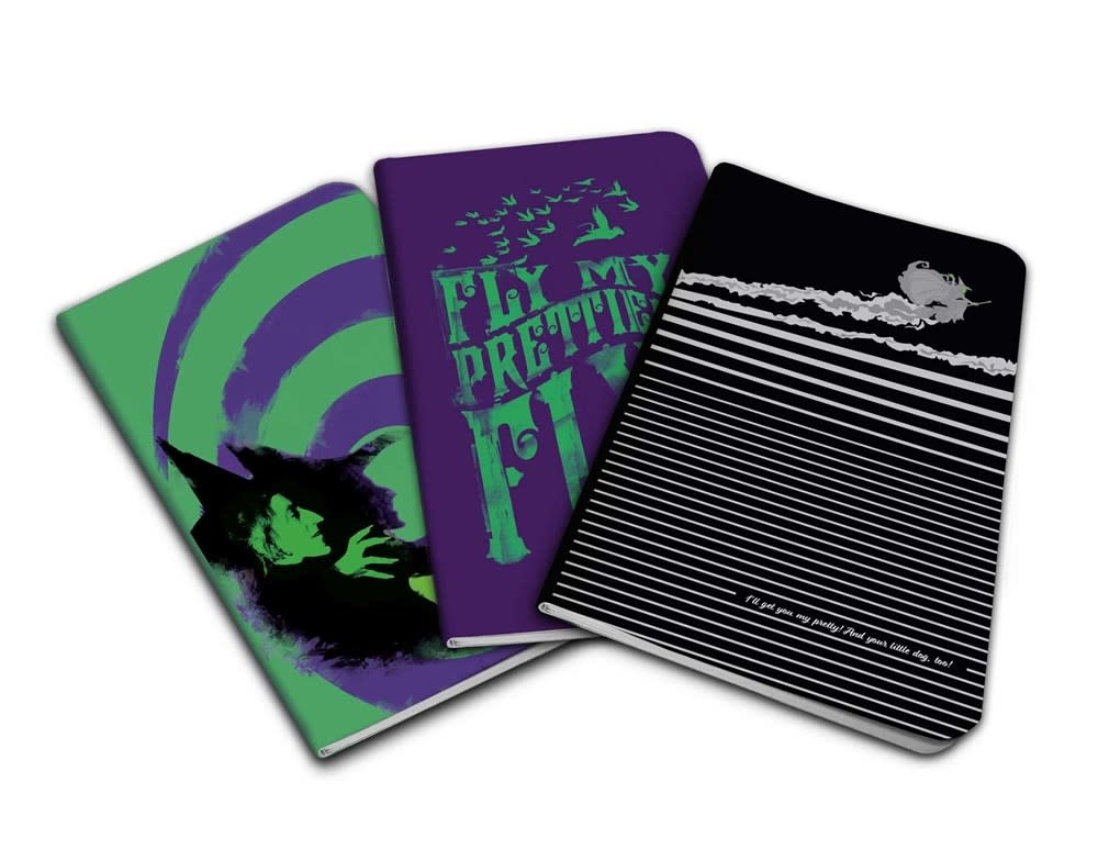 Insights The Wizard of Oz Pocket Notebook Collection (Set of 3)