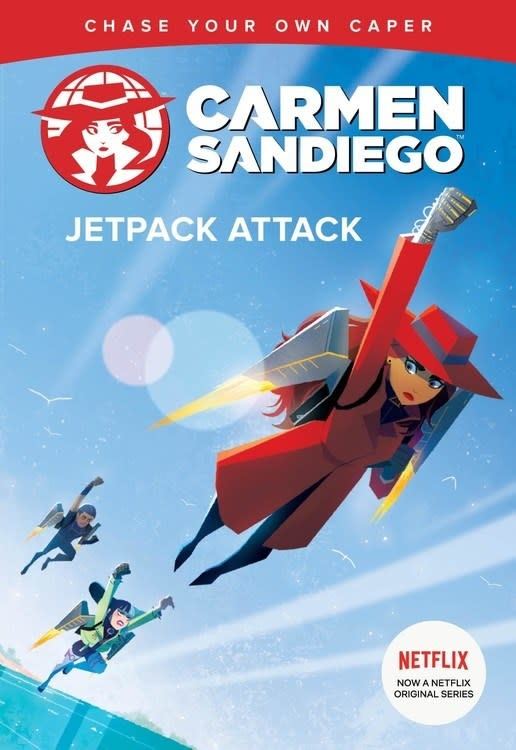 HMH Books for Young Readers Carmen Sandiego: Jetpack Attack